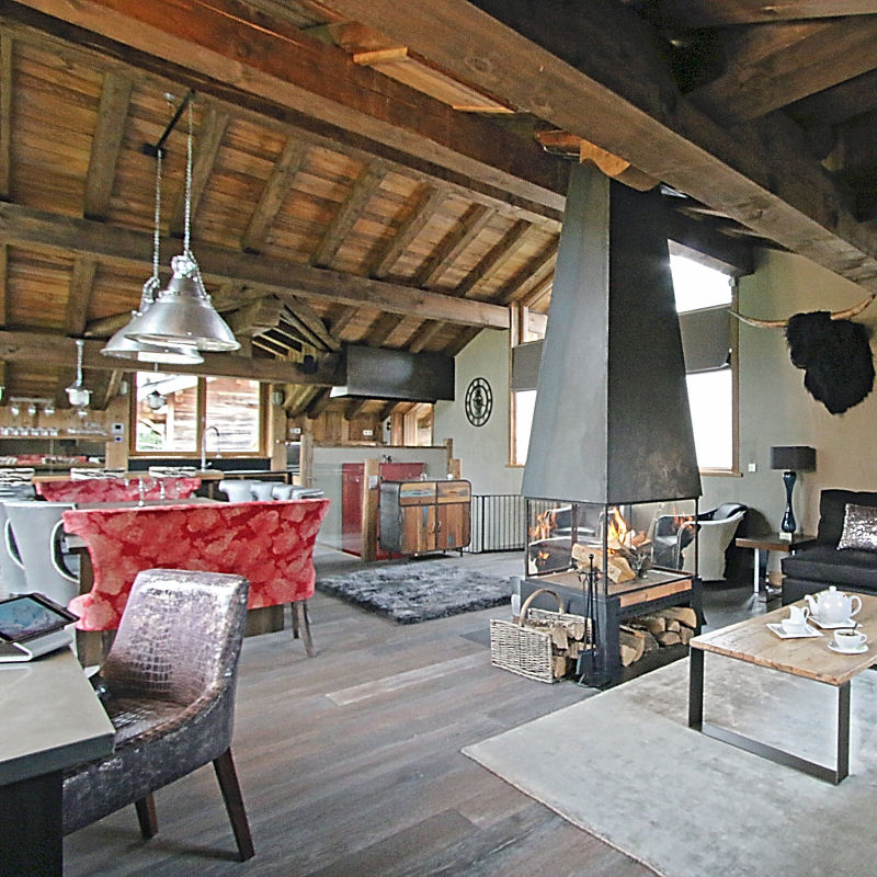 Courchevel Ski Chalet - Interior Design